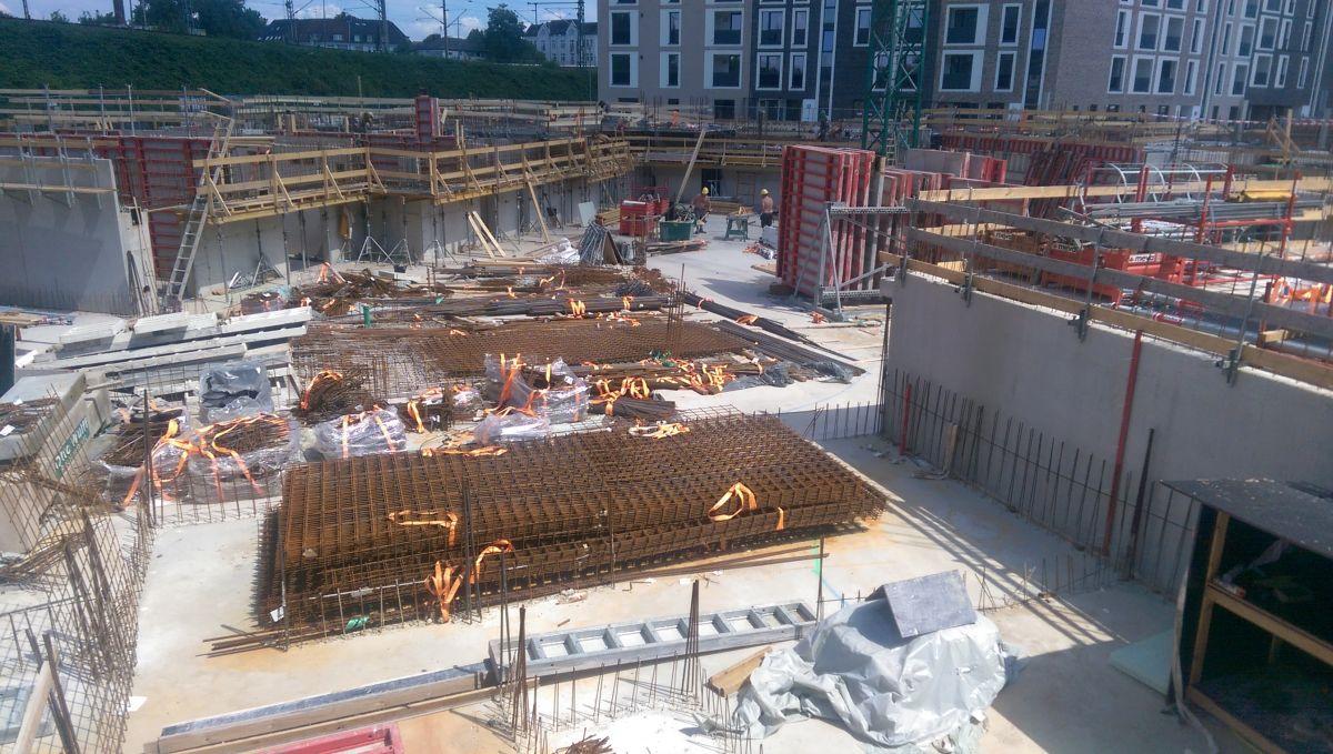 Neue Mitte Altona / Baufeld 4 - Baugrund- und Schadstoffuntersuchung, Aushubsteuerung