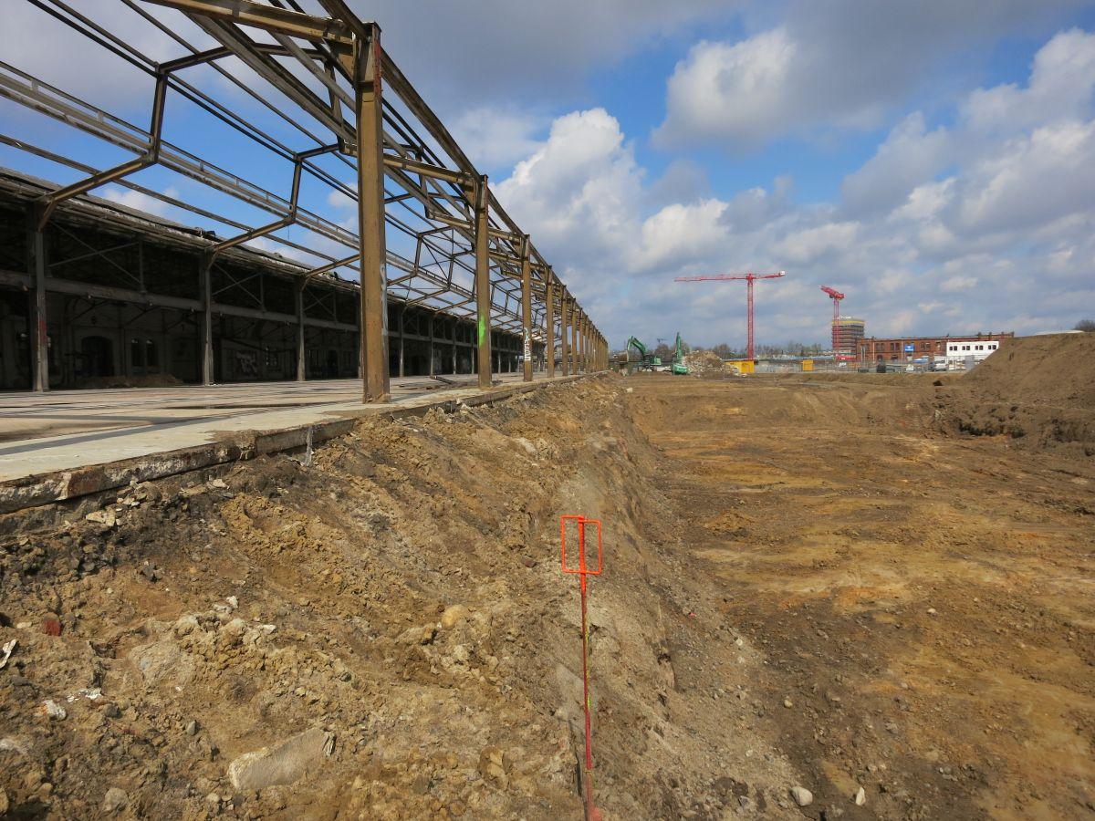 Kranhäuser Neue Mitte Altona - Kampfmittelsondierung