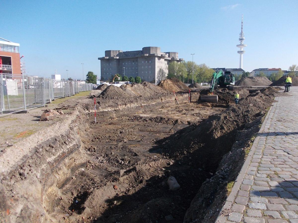 Sanierung Heiligengeistfeld - Kampfmittelsondierung