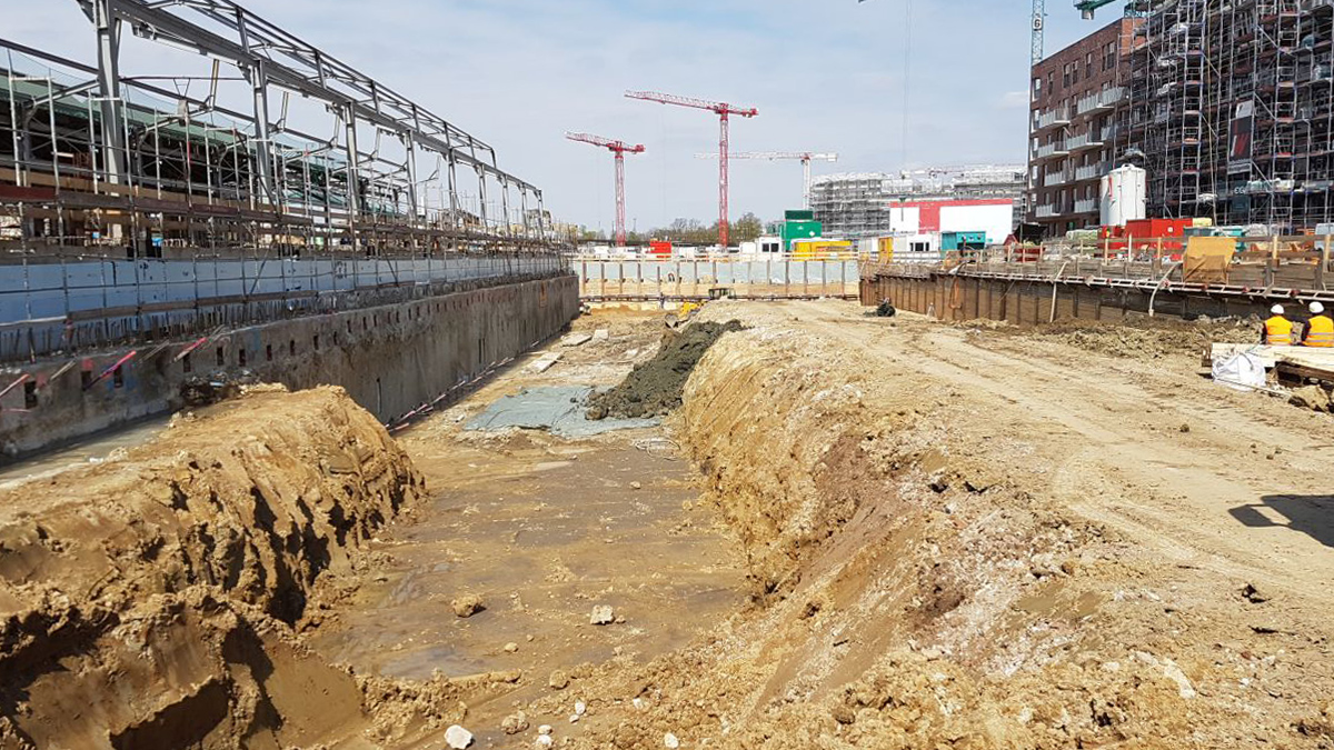 Kranhäuser Neue Mitte Altona - Baugrund- und Schadstoffuntersuchung