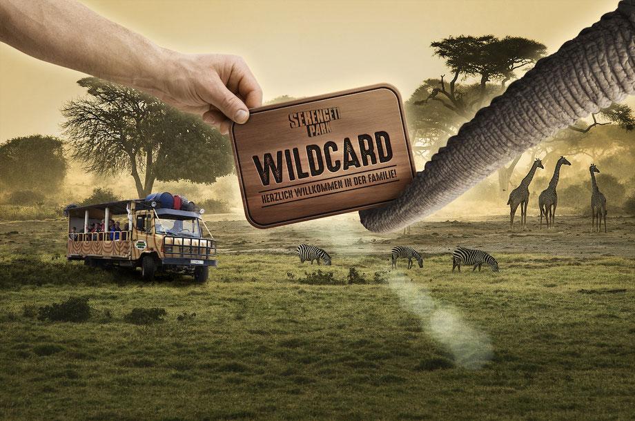 jahreskarte wild card serengeti park
