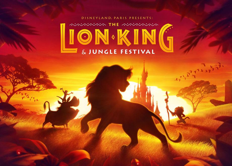 disneyland paris könig der löwen und dschungel festival