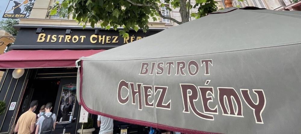 Restaurant Bistrot Chez Rémy im Disneyland Paris