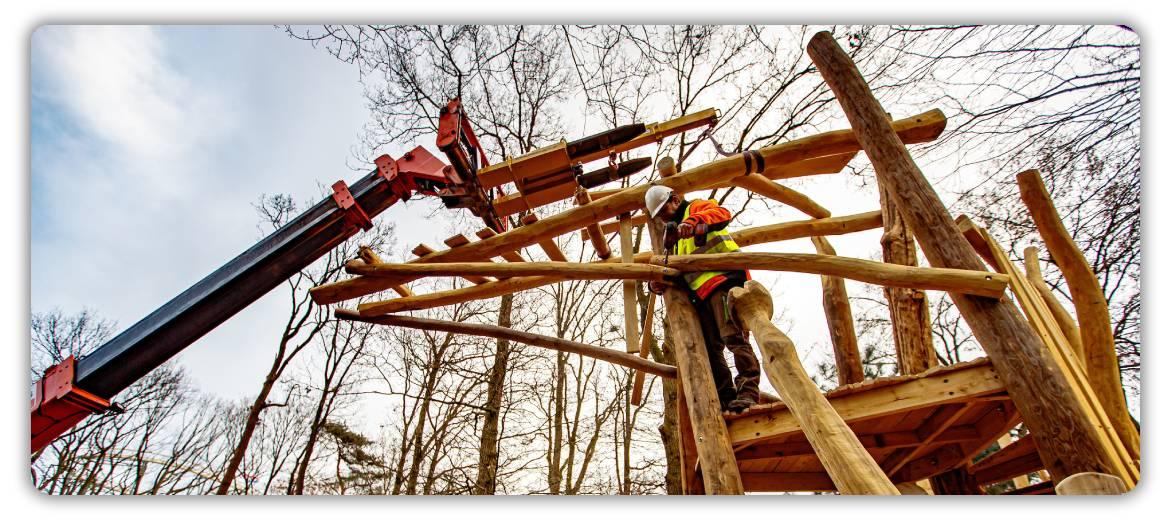 Startschuss für inklusiven Spielwald Nest!