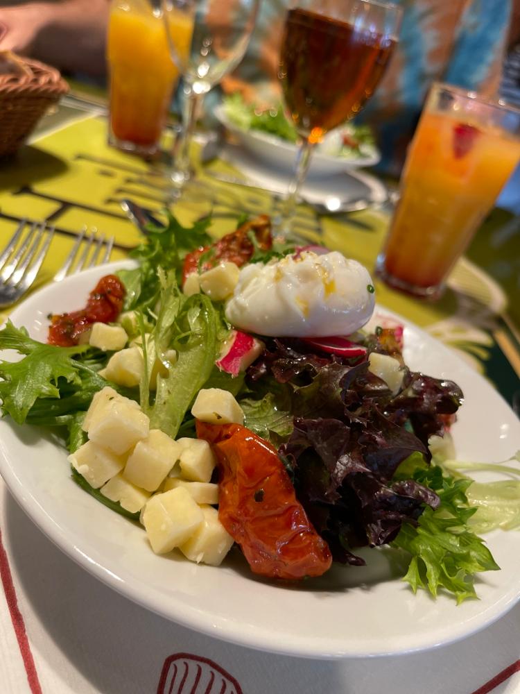 Bistro Chez Rémy - Vorspeisen Salat