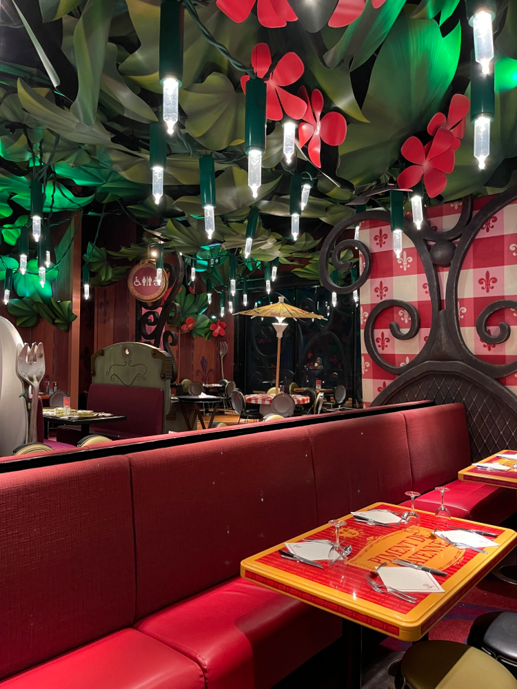 Bistro Chez Rémy im Disneyland Paris - Ambiente