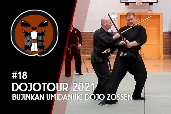 Zu Gast im Bujinkan Umidanuki Dojo Zossen - DojoTour 2021