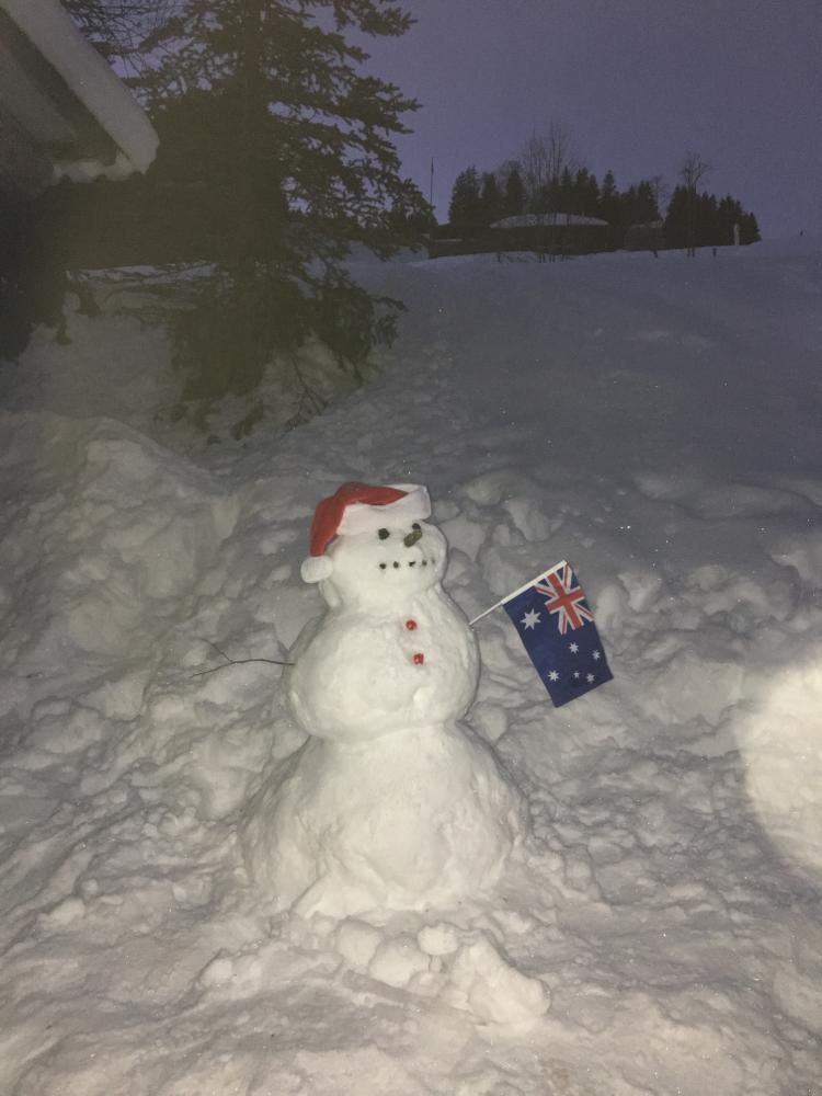 Australische Weihnachten in der Lodge