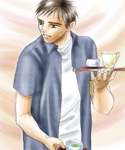 お茶くみ榊(挿絵)