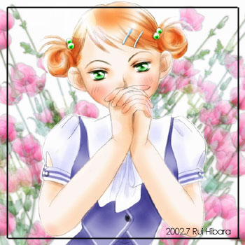 乙女(挿絵)