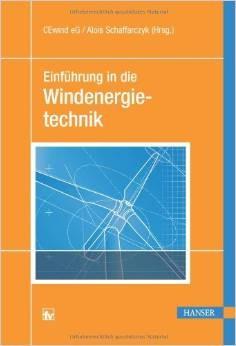 Einführung in die Windenergietechnik (Quelle: http://www.hanser-fachbuch.de)