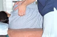 一般的な肩甲骨はがしをしめした画像