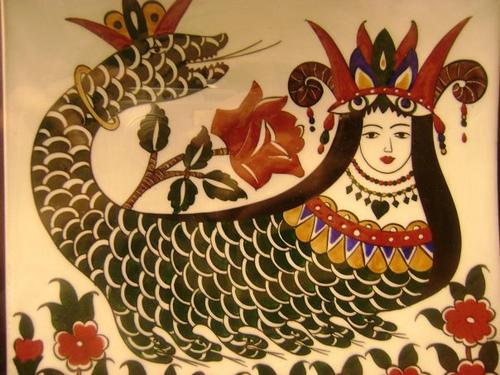 Representació de Sahmaran