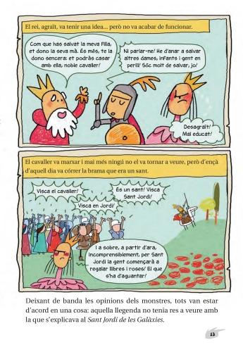 La llegenda de Sant Jordi segons l'Agus Pianola