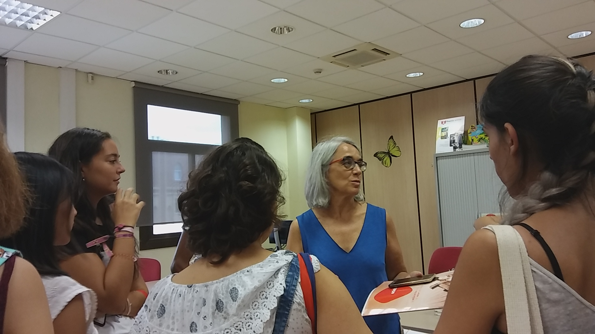 Visita guiada per l'editorial