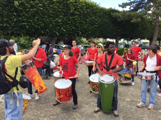 Brocante organisée par l'Asso Familiale des Cordeliers, Pontoise - 16 Juin