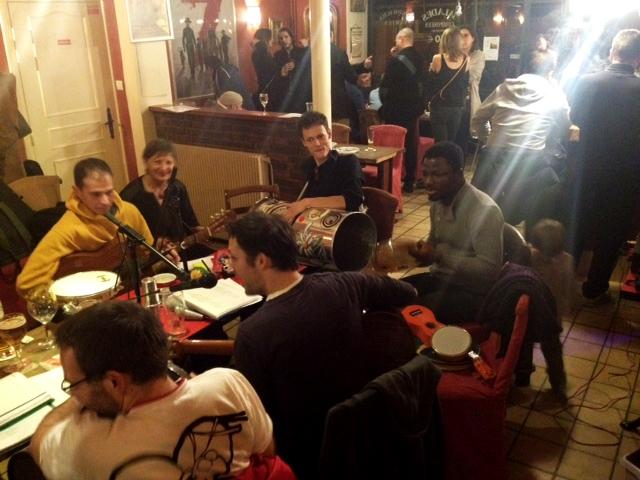 Pagode au Godillot - 13 janvier 2017 - Association Zé Samba