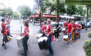 Rue St Charles - Batucada Zé Samba