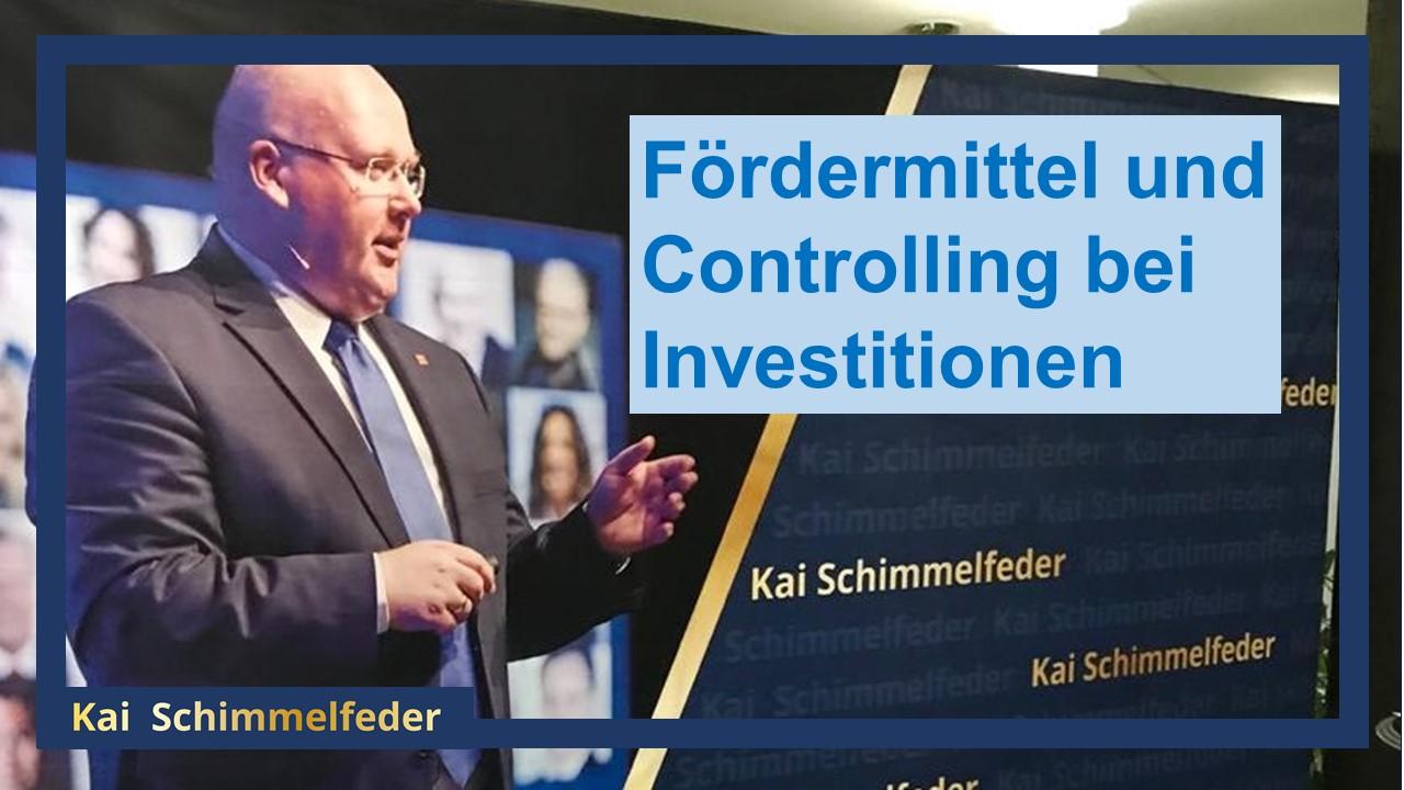 Fördermittel beantragen - Finanzierungen absichern - Controlling nutzen