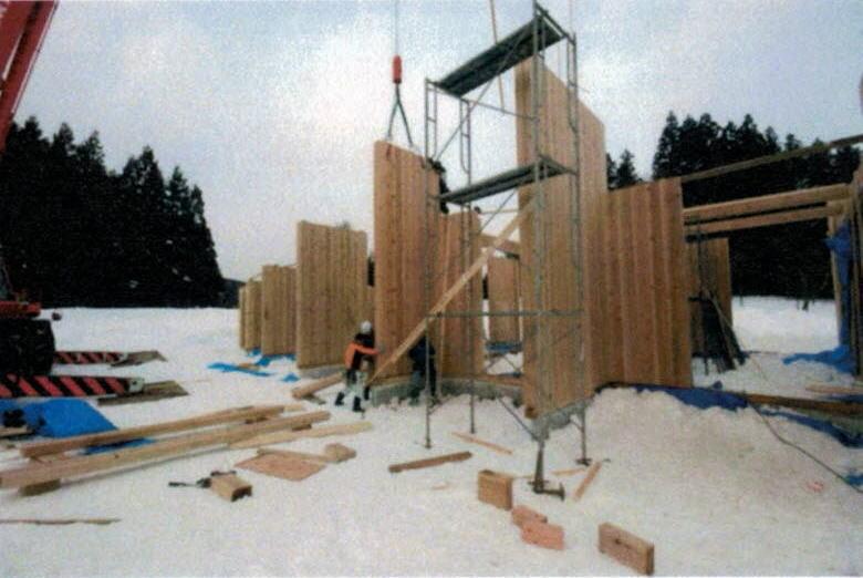 建て方風景2