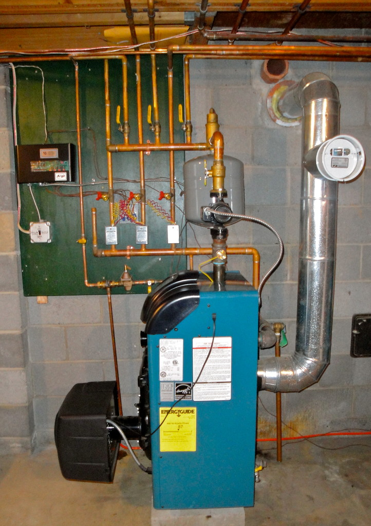 4-zone heating system
