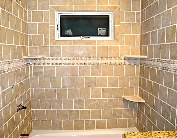 Finished tile/bathroom remodel