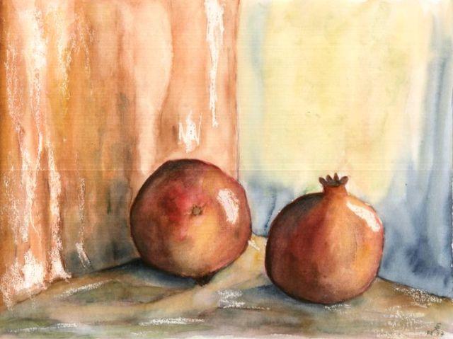 Granatäpfel, 30x40 (2007)