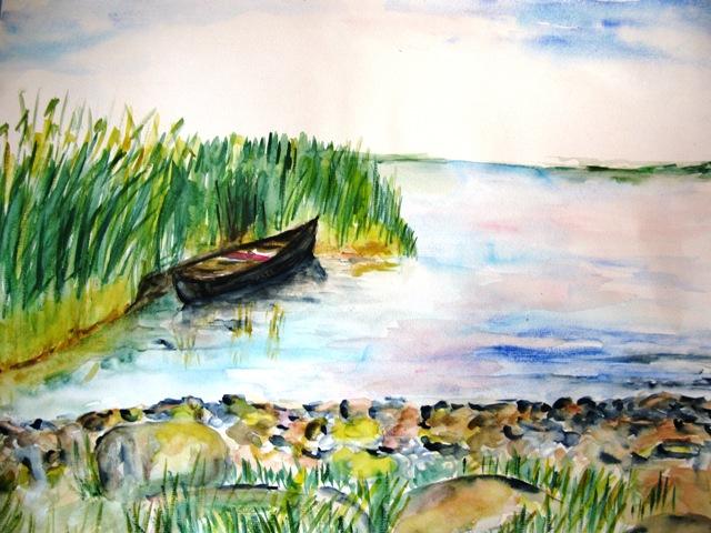 Achterwasser, 36x48 (2009)