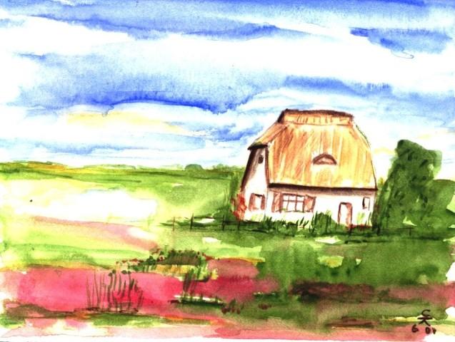 Das schöne Haus (Hiddensee), 10x15 (2000)