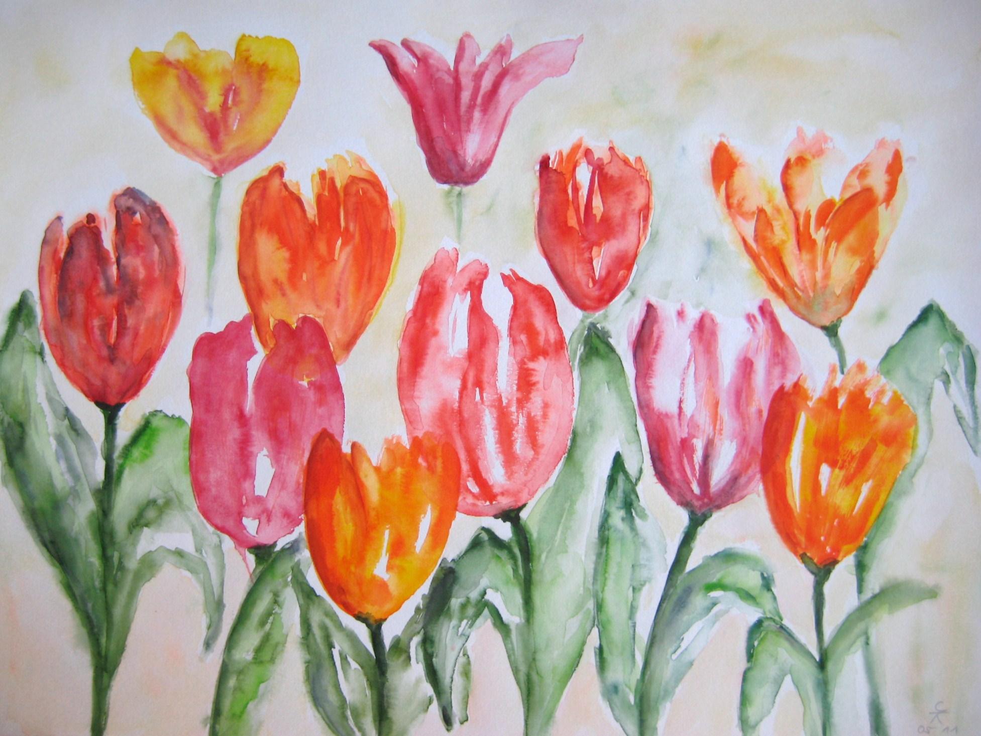 Tulpen I, 39x49 (2013)