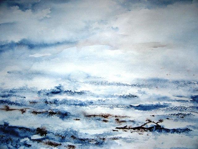 Das Meer, 39x49 (2008)