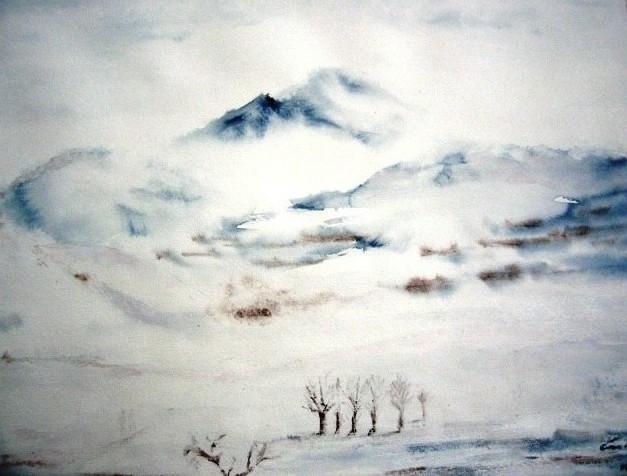 Der Berg, 39x49 (2008)