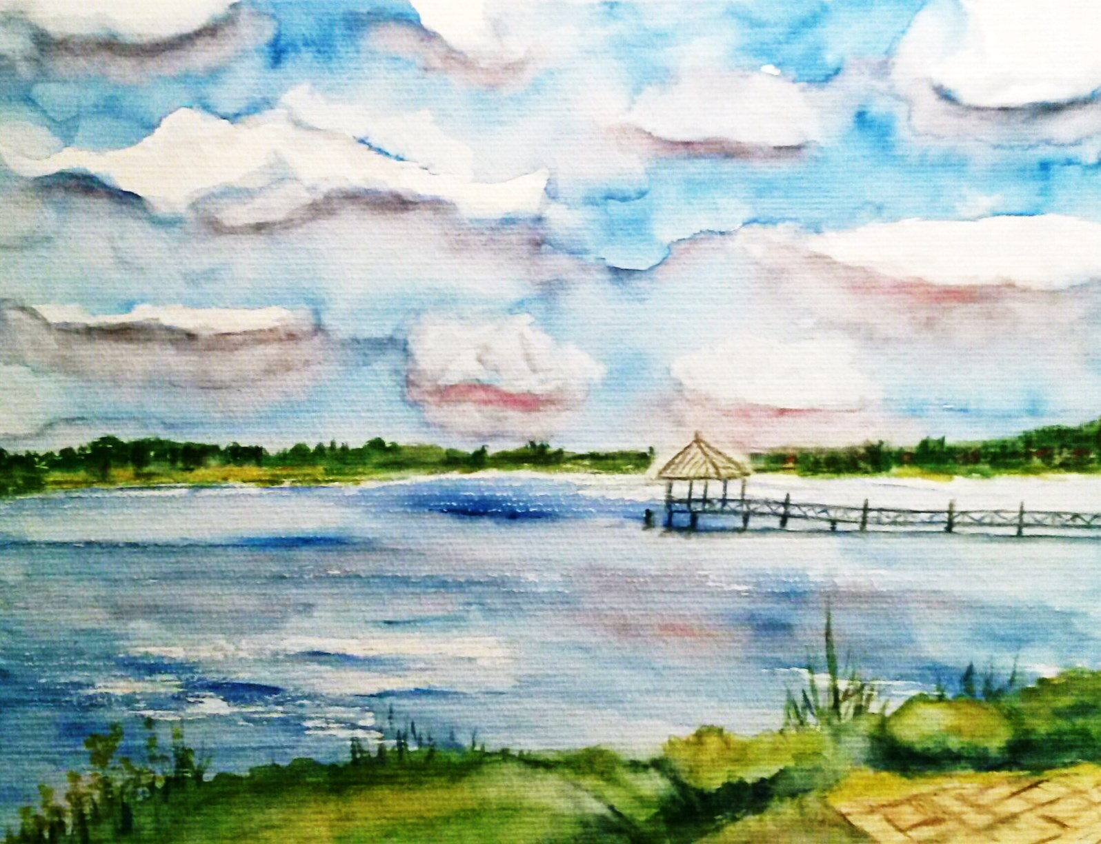 Ruppiner See, 36x47 (2018)