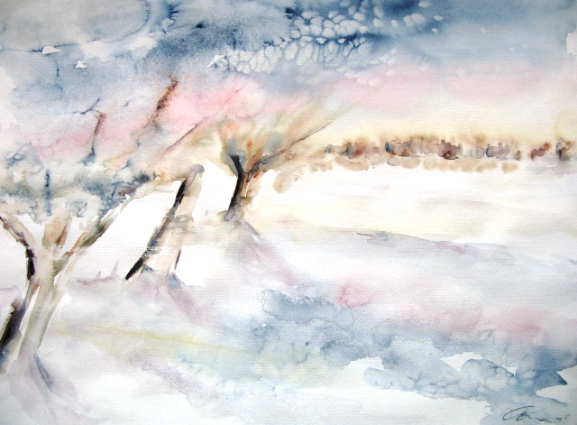 Winter I, 39x49 (2009)