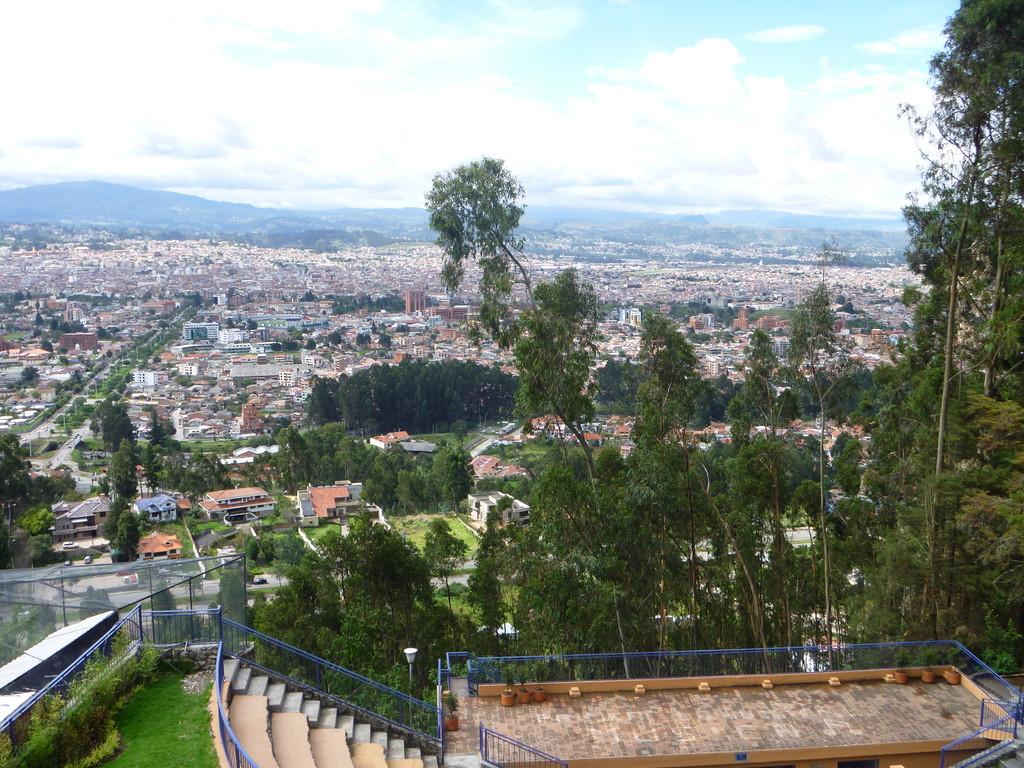 Vista de Cuenca desde el mirador