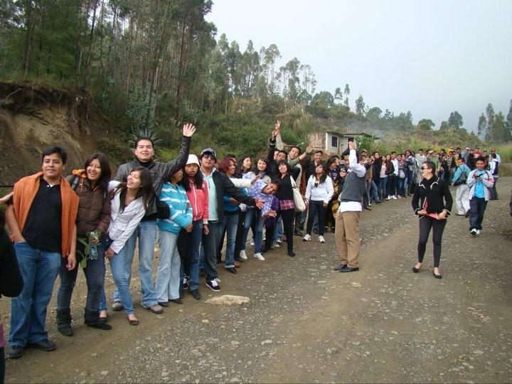 En fila para ir a Cuenca