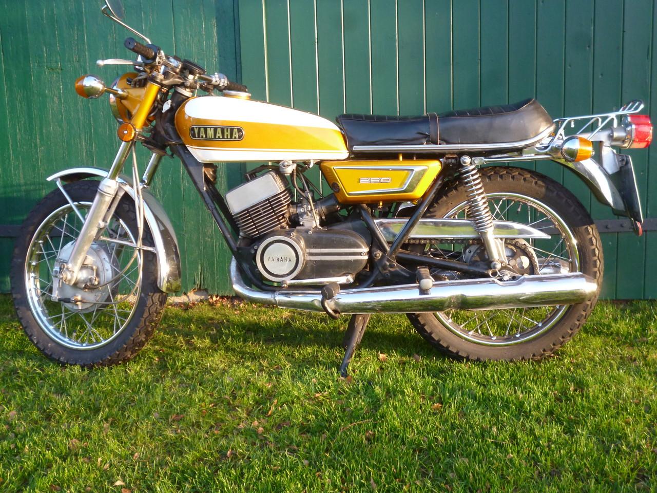 Über 4 Jahrzehnte begleitet diese Yamaha DS7 Michael bereits !
