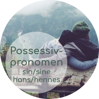 norwegische Possessivpronomen: hans, hennes, deres vs. sin, si, sitt, sine