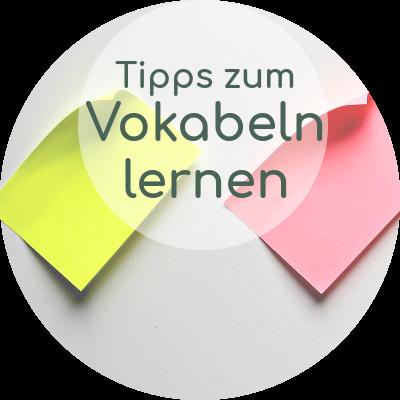 Tipps und Tricks zum Vokabelnlernen