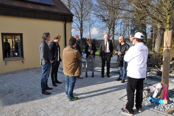 Offizieller Pressetermin (Euroherz/FP/ NT) mit Landrat, Bürgermeister und Sponsoren