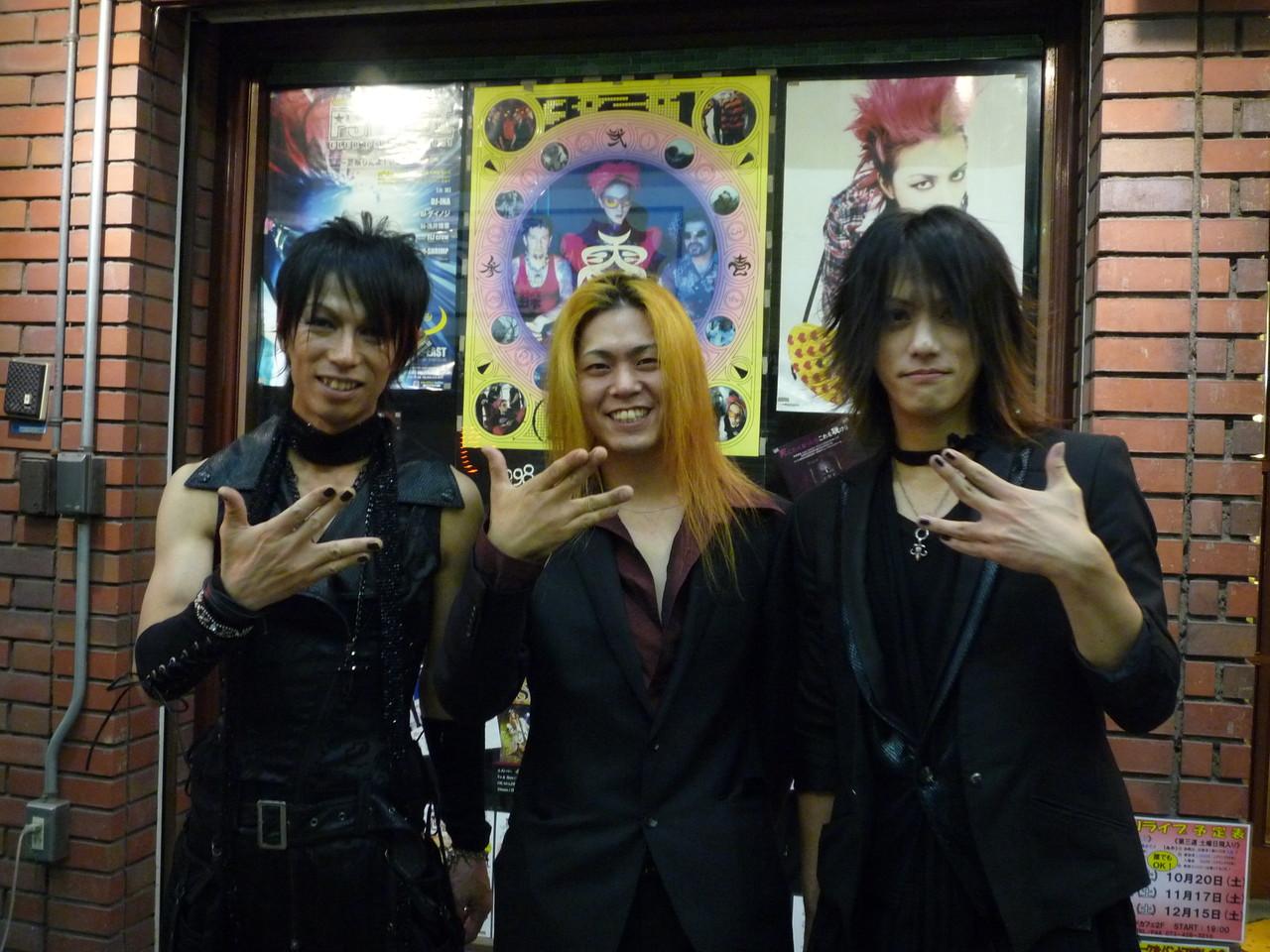Take&YUSHI&SHAVAZO☆ YUSHIさんを真ん中にレアな3ショット☆