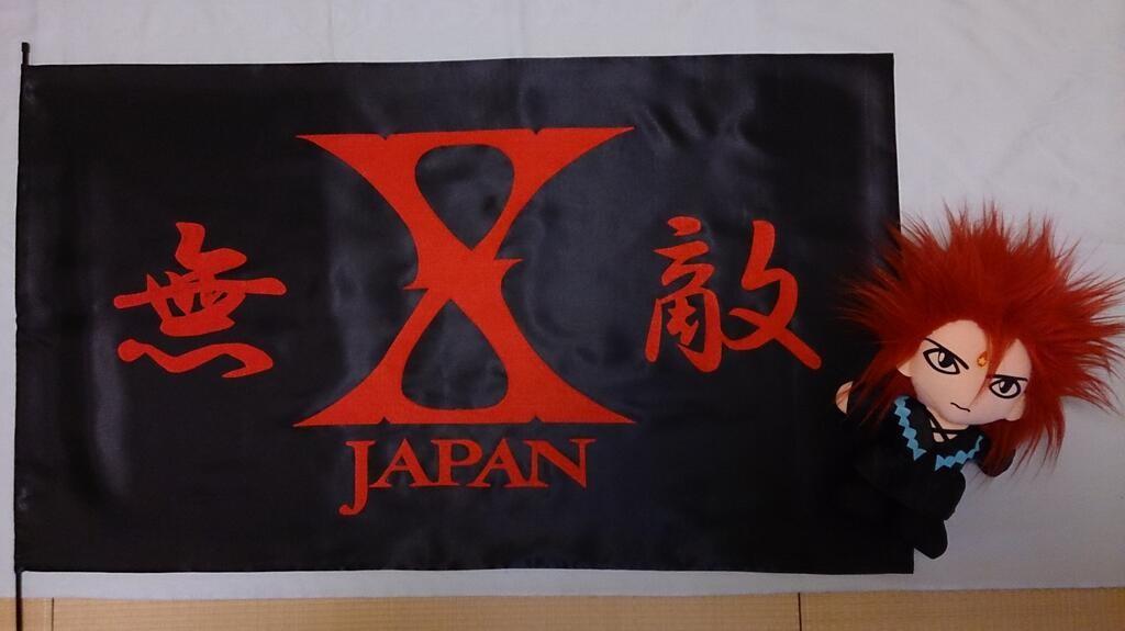 TakeがX魂込めて作成した無敵旗が大活躍しました(^-^)v