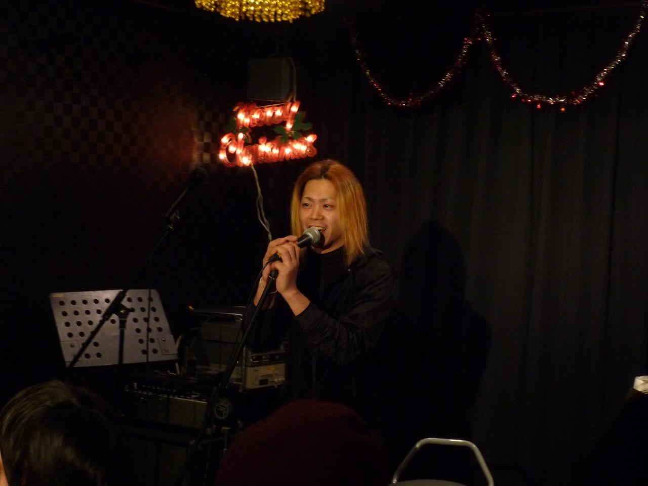【YUSHI World】 ここだけでしか聞けない楽しいトークと歌で盛り上げてくれました!