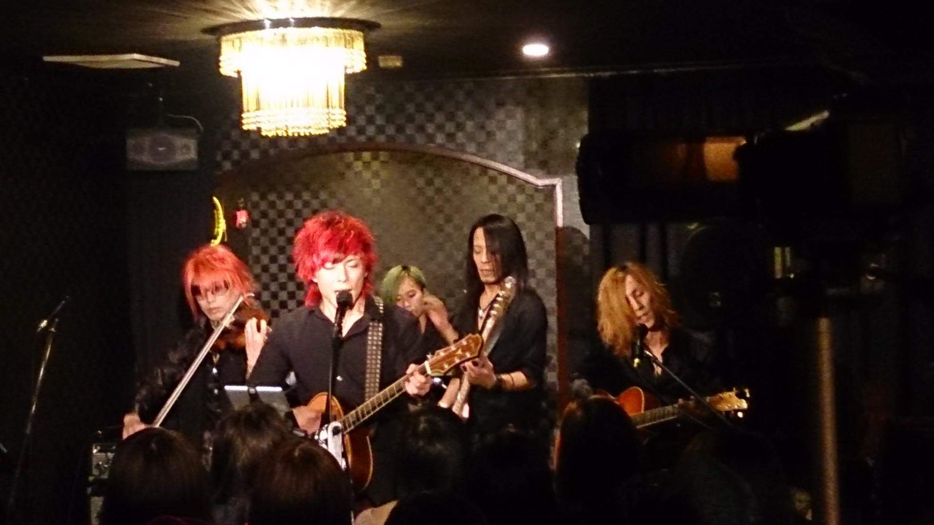パワフルで素晴らしい歌声のRYOさん♪ RYOさんの素敵な楽曲をヴァイオリンでサポート出来て最高でした!