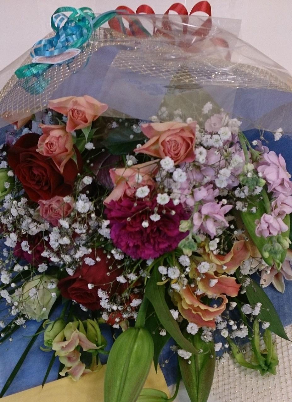 素敵なお花をくださった厚子様ありがとうございました♪