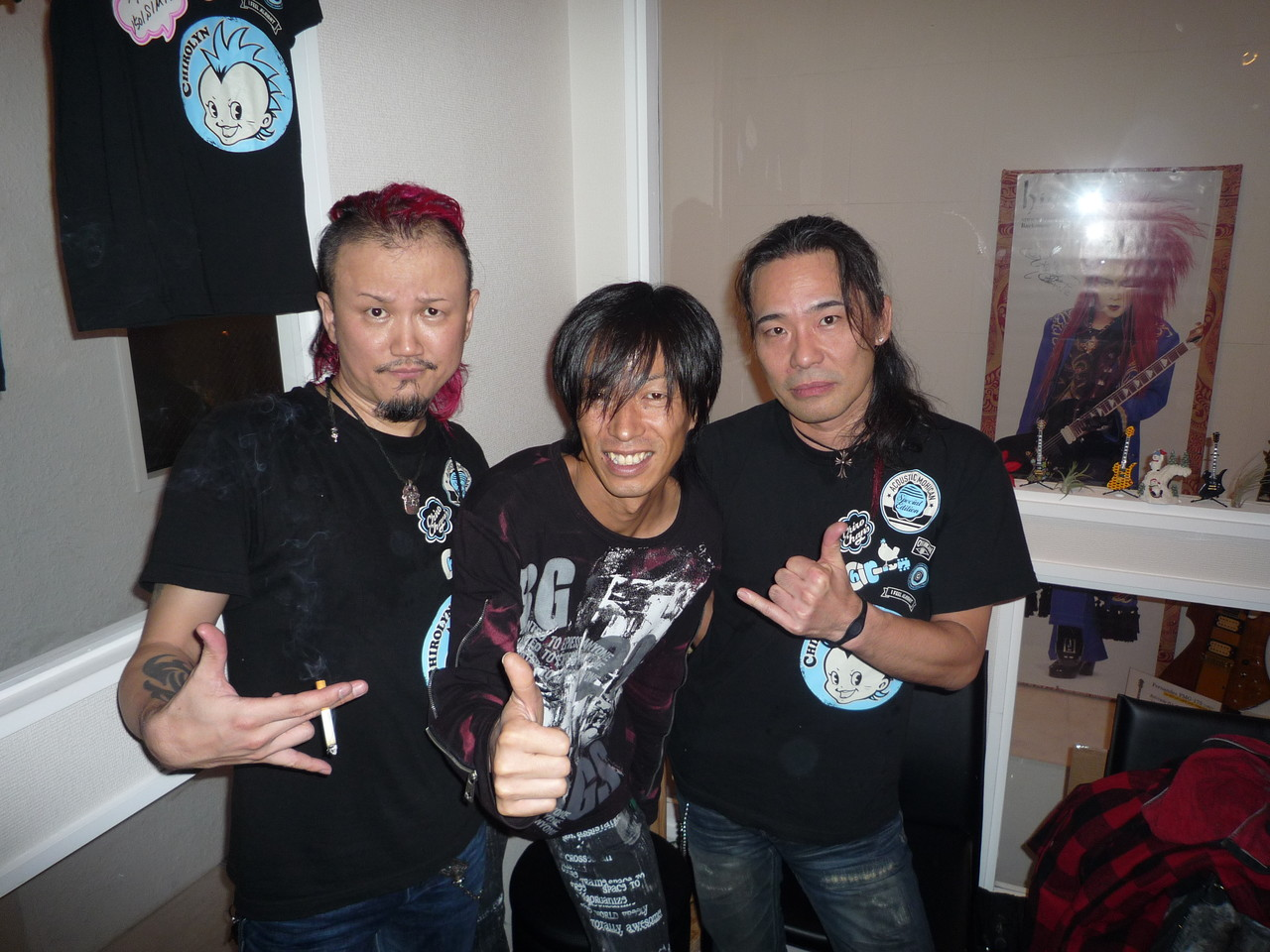 ChiroLynさんとRyojiさんと念願の3ショット!