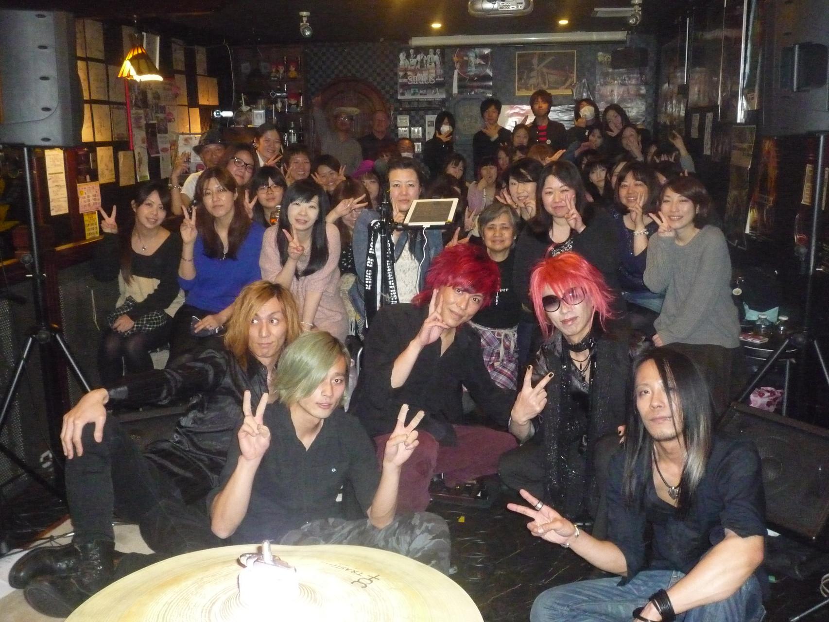 終演後、レモカフェで記念写真(^-^)