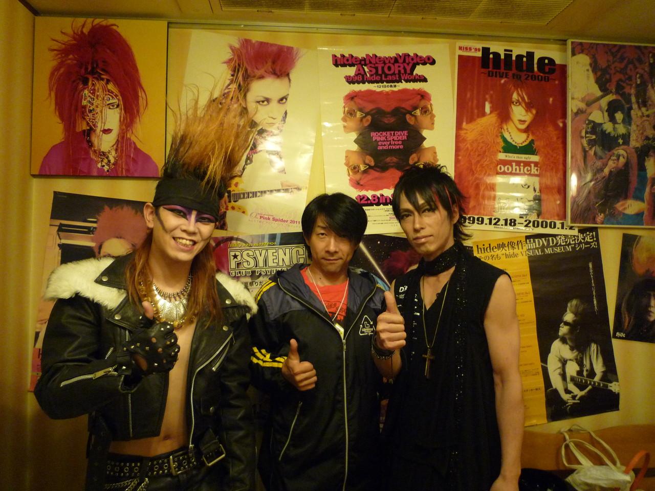 FM802 DJ浅井さんとX-HIROSHIMAのYUSHIさんと念願の3ショット!