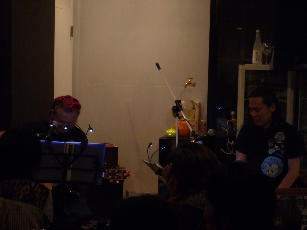 ChirolynさんとRyojiさん♪ かっこいい演奏をありがとうございました!