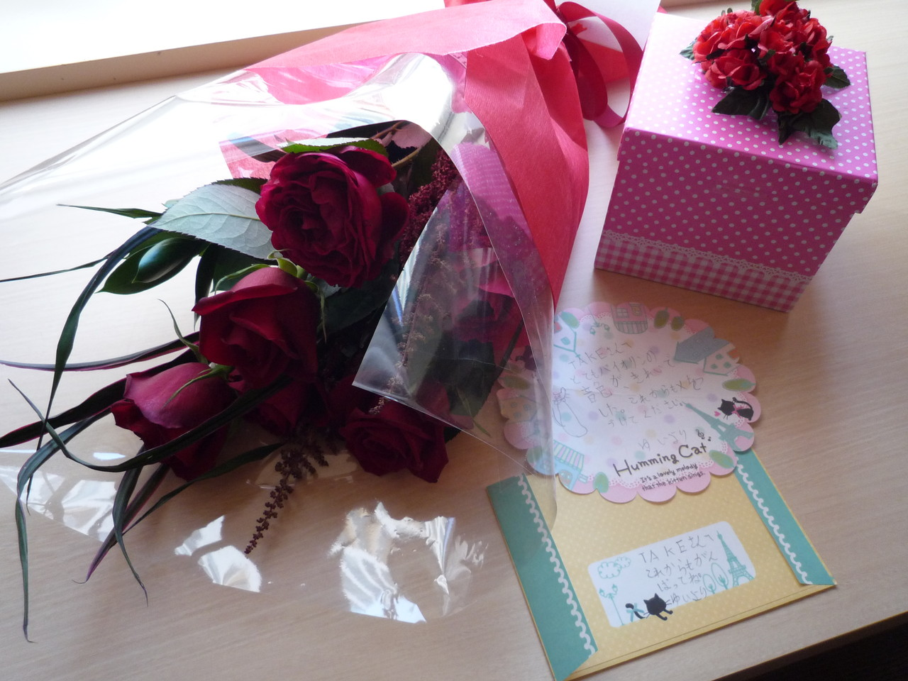 ブヒ子さん、ひかりさん、ゆいちゃん、心温まる素敵なプレゼントありがとうございました。